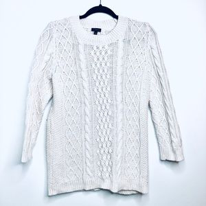 Talbots• Cable Knit Sweater